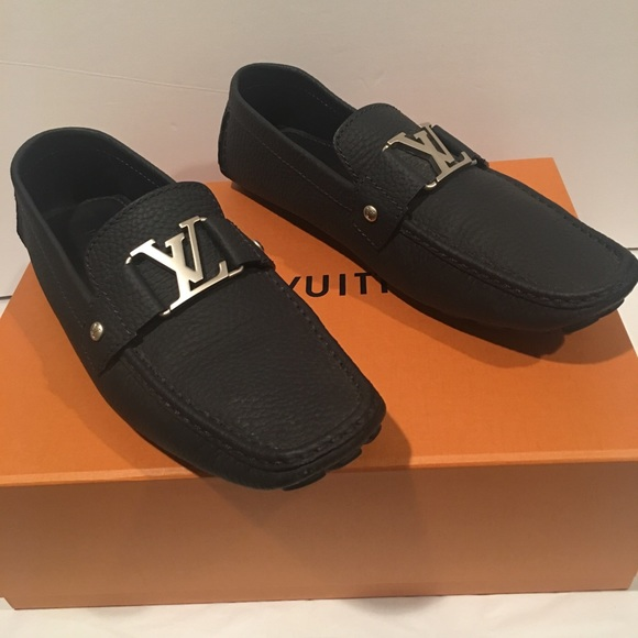 f3652457bd5 Louis Vuitton Other - LOUIS VUITTON MONTE CARLO MOCCASIN LOAFER Sz 8.5 M